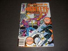 SOLO AVENGERS #3 HAWKEYE/MOON KNIGHT (1988) START THE BID AT $1.50 BUY IT NOW FOR $3.00+ SHIP!!