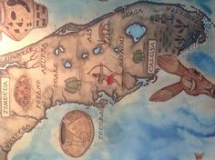 Love this map of the Florida Native American tribes seen at the Tampa Bay History Center. Fascinating culture.