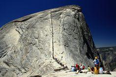 La Roca partida, Parque Nacional de Yosemite, EEUU