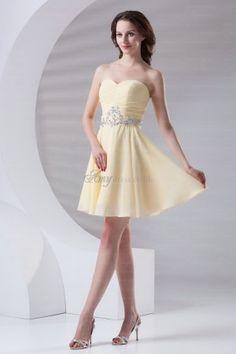 yellow homecoming dress #yellow #homecoming #dresses