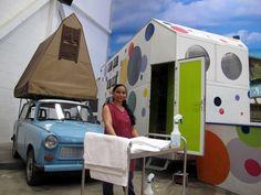 Eine Putzfrau auf dem Campingplatz? Das BaseCamp ist eben anders. Foto: Doris Recreational Vehicles, Comebacks, Germany, Fun, Pictures, Campsite, Deutsch, Campers, Motorhome