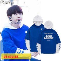 BTS Bangtan Boys Suga Same Style Sweatshirt Women Men Hoodies K-POP Long Sleeve Fashion Korean Patchwork Fake Two Pieces Hooded