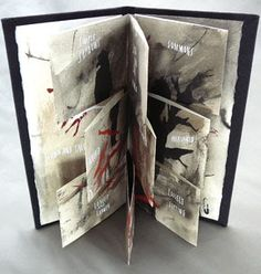 Blown and Fallen,  2007  I like making books with pages that breathe. Translucent paper, cutouts, and divided pages are a few of the ways ...