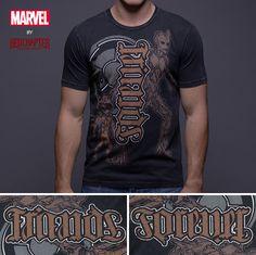 345a997af Friends / Forever - Black Short Sleeve Men's Crew Neck T-Shirt (Guardians of