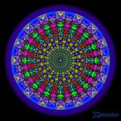 Mandala der Glückseligkeit
