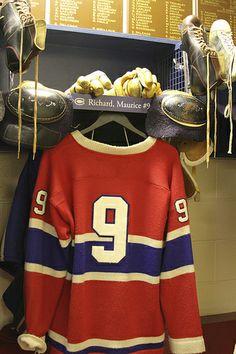 Maurice Richard Hockey Hall of Fame - #Habs #Hockey