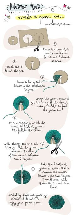 How To make a Pom-pom #DIY