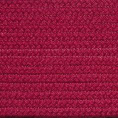 Colonial Braided Rug Co - Solid Rasberry Braided Rug, $59.70 (http://www.colonialrug.com/solid-rasberry-braided-rug/)