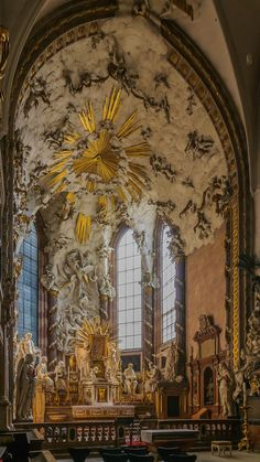 Church Architecture, Beautiful Architecture, Beautiful Buildings, Beautiful Places, Michael Church, St Michael, Hallstatt, Klagenfurt, Church Interior