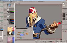Panupat 3D: Guilty Gear Xrd part 1 - Model, Shading, Lighting