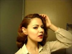 """Vintage Waves from the Golden Age """"That Famous 40s Look"""" Part 2 - YouTube"""