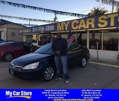 Congratulations Cedric on your #Honda #Accord Sdn from Lafayette Brown at My Car Store!  https://deliverymaxx.com/DealerReviews.aspx?DealerCode=OUVL  #MyCarStore