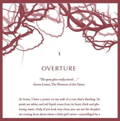 #RoseBlood chapter headings. Who knew brambly, winding thorns could be so lovely? <3
