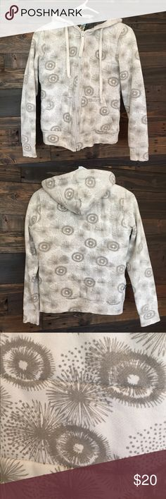 Matix Hoodie EUC | Very warm grey and white hoodie | Lined with a material that keeps you warm | Unsure of the size, either small or x-small (tag wore off) Matix Clothing Company Tops Sweatshirts & Hoodies