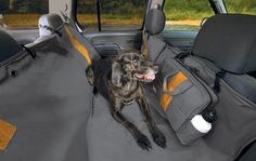 Kurgo Wander Hammock Dog Seat Cover- Keep Vehicle Clean from Dirty Dogs - Waterproof & Stain Resistant - Easy to Use with Seat Belt Opening for Passengers - Stays in Place - Use as Hammock to Keep Seats & Floors Protected - Cross Peak Products Best Car Seats, Dog Car Seats, Dog Hammock, Dog Seat Covers, Dog Blanket, Big Dogs, Dog Pictures, Wander, Dog Breeds