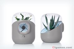 Plant-based Air Purifier  http://www.andreaair.com/