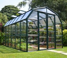 Playhouse for my husband. Rion Greenhouses Grand Gardener 2 Clear H x W x D Polycarbonate 4 mm Greenhouse