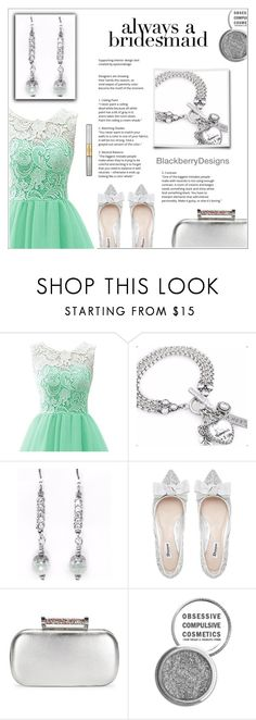 """Always A Bridesmaid"" by shambala-379 ❤ liked on Polyvore featuring Bela, La Regale, Obsessive Compulsive Cosmetics and tarte"