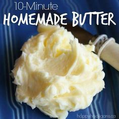 Home Made Butter IN 10 Minutes