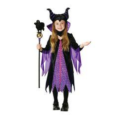 Halloween costumes kids Disney girl fancy dress costume Child VILLAINS Maleficent maleficent sleeping beauty cosplay Halloween events Halloween