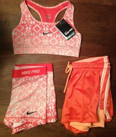 Matching Nike outfit