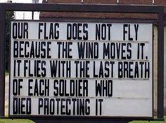 Amen to our Soldiers, their strength, courage, and loyalty. Also, to their families for the dedication and support.