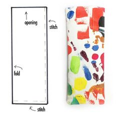 alisaburke: fashion friday- canvas glasses pouch