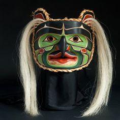 Coast Salish Art | Coast Salish Bukwus Mask