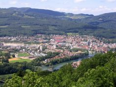 Olten - Switzerland Continents, Wonderful Places, Austria, Countries, Cities, Globe, Trips, The Past, River