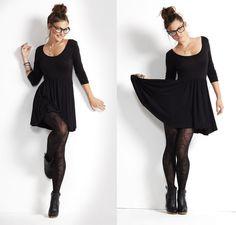 vestido negro!
