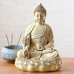 The Medicine Buddha (Bhaisajyaguru, Skt.), one of the most revered deities of the Buddhist pantheon,. Buddhist Teachings, Buddhist Art, Meditation Cushion, Meditation Music, Meditation Space, Budha Statue, Meditation Supplies, Flag Icon, Buddhism