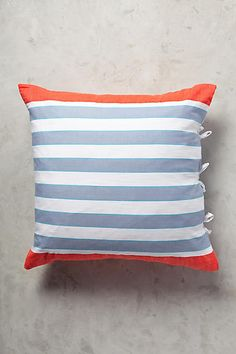 Just in time for summer, model and activist Liya Kebede launches a 15-piece lemlem home collection on Anthropologie, in the brand's trademark neon stripes.