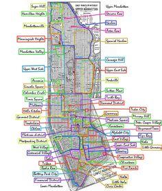 Neighborhoods in Manhattan, NYC (New York) Washington Heights, Nova York Manhattan, Lower Manhattan, Manhattan Neighborhoods, Voyage New York, I Love Nyc, City That Never Sleeps, Free Things To Do, New York Travel