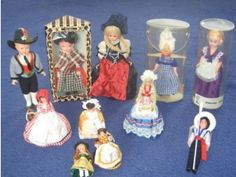dolls in national costume - I had a vast collection of these...