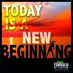 Today is a new beginning.