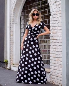 Liliana, Maxi Dresses, Grande, Ideias Fashion, Quote, Simple Dresses, Women's Feminine Outfits, Stylish Outfits, Chess