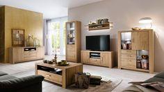 Moderne wohnzimmerschränke ~ Wohnwand olivia schrankwand eiche sanremo 7659. buy now at https