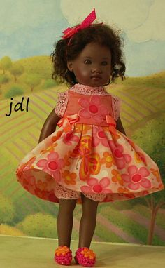 Butterfly Sherbet for Riley Kish by JDL Doll Clothes #KishCompany