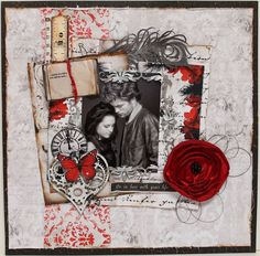 Find this Pin and more on Scrapbook Layouts.