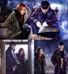 Hyde jekyll and I ... One of the cutest moment, when hae na confess to Robin but actually robin is no robin