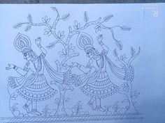 Fabric Paint Designs, Hand Embroidery Design Patterns, Pattern Drawing, Nature Art Painting, Hummingbird Art Drawing, Rangoli Designs Images, Hummingbird Art, Blossoms Art, Hand Art