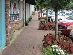 Every town can be beautiful with a little downtown landscaping