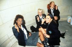 Spice Girls - obviously sporty spice didn't wanna ruin her lungs..
