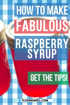 How to make super simple canned raspberry syrup is the best raspberry syrup recipe because the ingredients are so simple. This easy raspberry recipe can be used with fresh raspberries or frozen raspberries for a delicious dessert topping. Use raspberry syrup on top of pancaked, waffles or ice cream. If you want to make fresh raspberry sauce with this recipe, just reduce the amount of sugar. This canned raspberry syrup makes a great gift. Use frozen berries to make this raspberry syrup today!