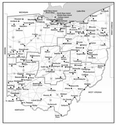 State Map Virginia Cities Google Search MAPS Pinterest - Road maps of ohio