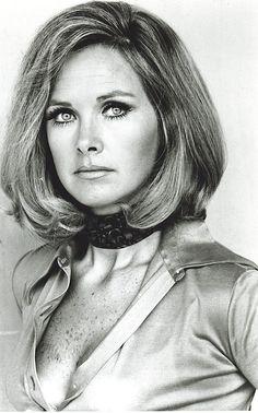 Wanda Ventham (mum of Benedict Cumberbatch) as 'Colonel Virginia Lake' in Gerry Anderson's 1970 science fiction series 'UFO'