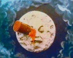 gifs silent film A Trip To The Moon Le Voyage dans la lune george melies