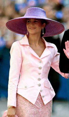 Infanta Elena, October 1997   The Royal Hats Blog