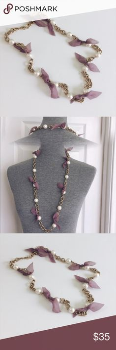 •statement necklace• •statement necklace•  * product: necklace  * condition: like new  * size: one size (long necklace /can be adjust)  : price is negotiable, feel free to make an offer or bundle Jewelry Necklaces