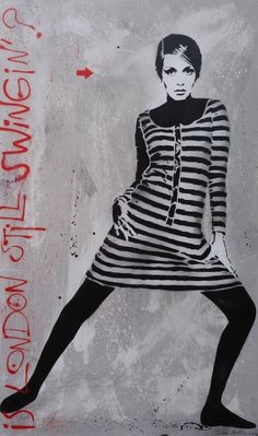 LEZARTS URBAINS - STREET ART: JEF AEROSOL - LONDON STILL SWINGIN ? YES !